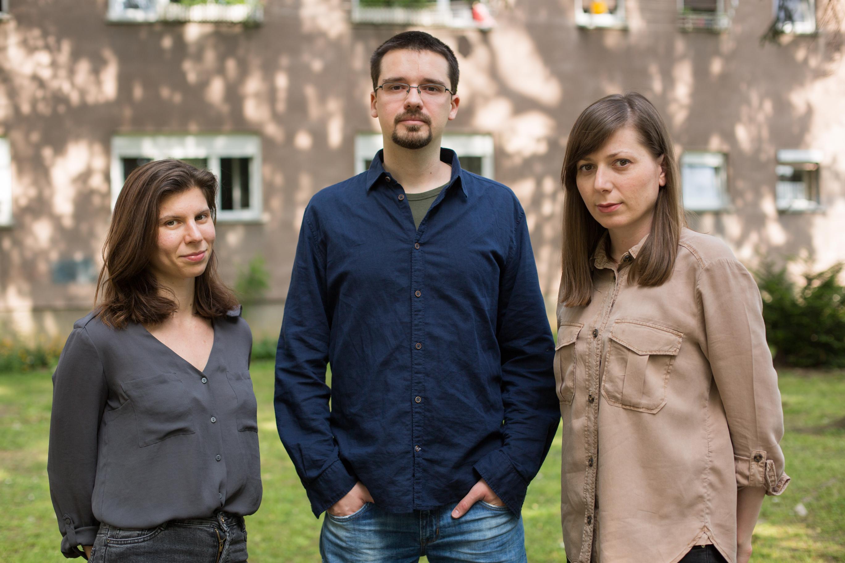 Dizajneri Karla Paliska, Igor Bojić i Nataša Njegovanović